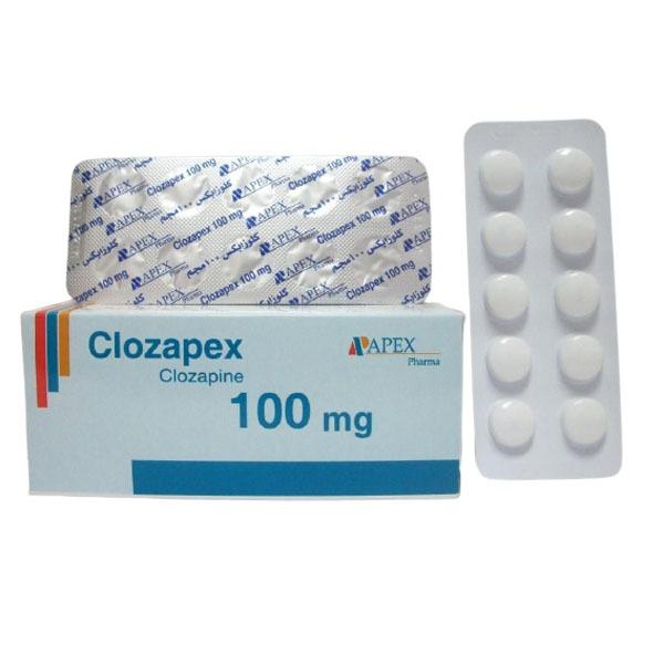 CLOZAPEX 100MG 50TAB. 1