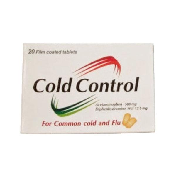 COLD CONTROL 20TAB 1