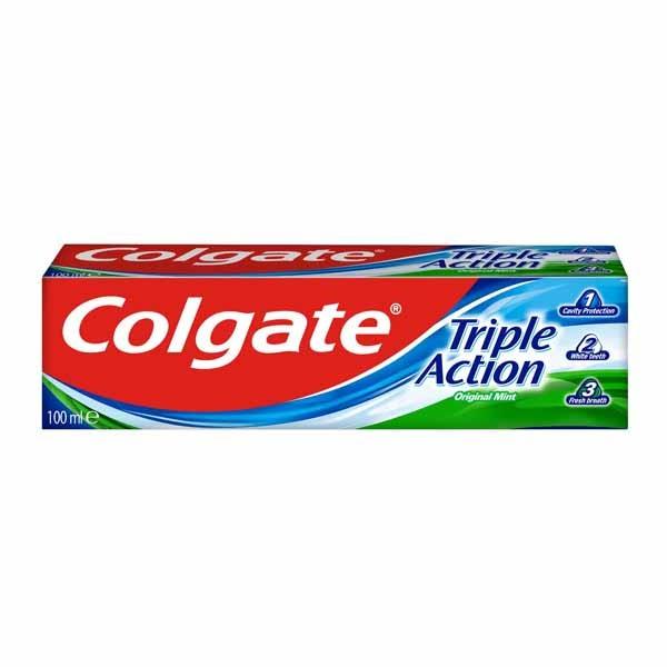 COLGATE TRIPLE ACTION 100ML. 1