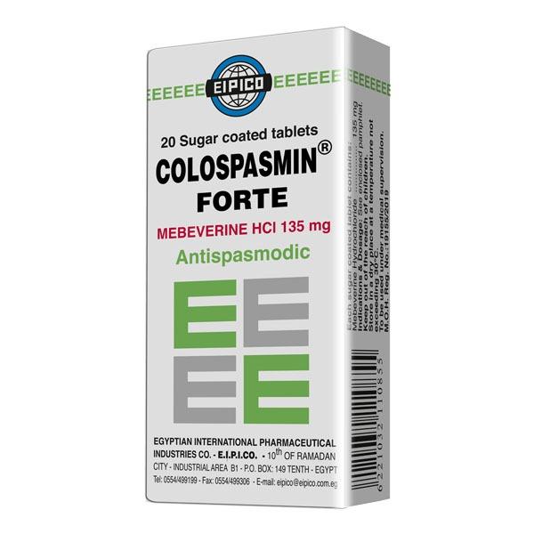 COLOSPASMIN FORT 20 TAB