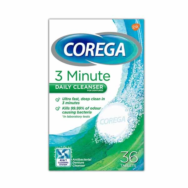 COREGA DENTURE CLEANSER 1