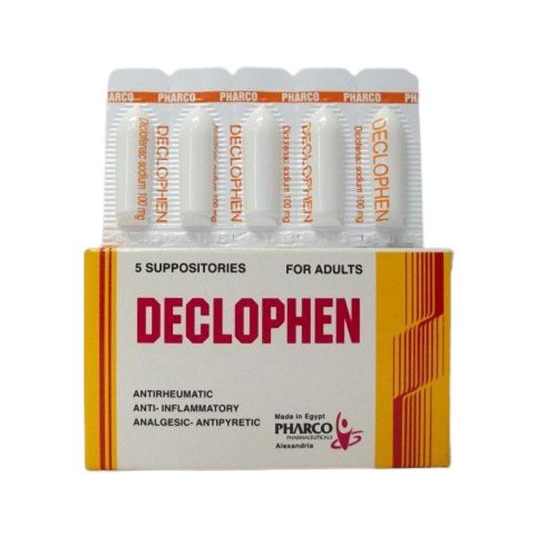 DECLOPHEN 5 SUPP 1