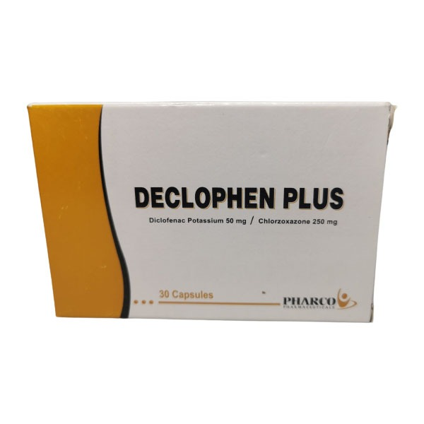 DECLOPHEN PLUS 30CAP 1