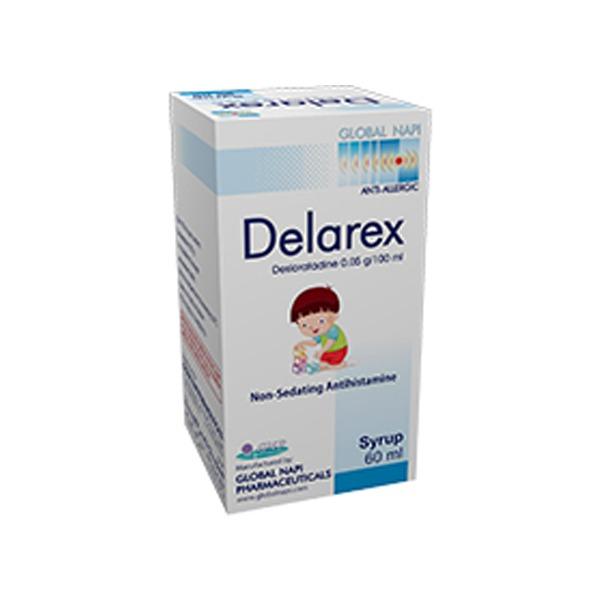 DELAREX 60ML SYRP.