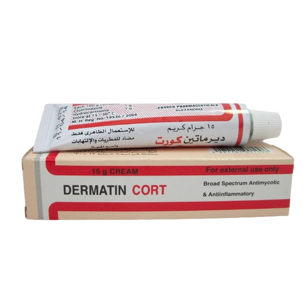 DERMATIN CORT CREAM 15GR 1