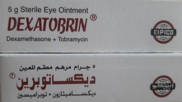 DEXATOBRIN 5G EYE OINT