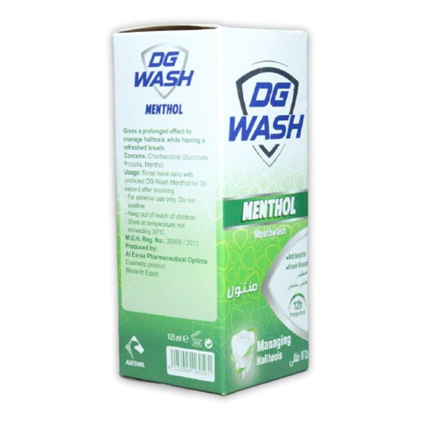 DG WASH MENTHOL MOUTH WASH