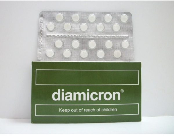 DIAMICRON 80 MG 20 TAB
