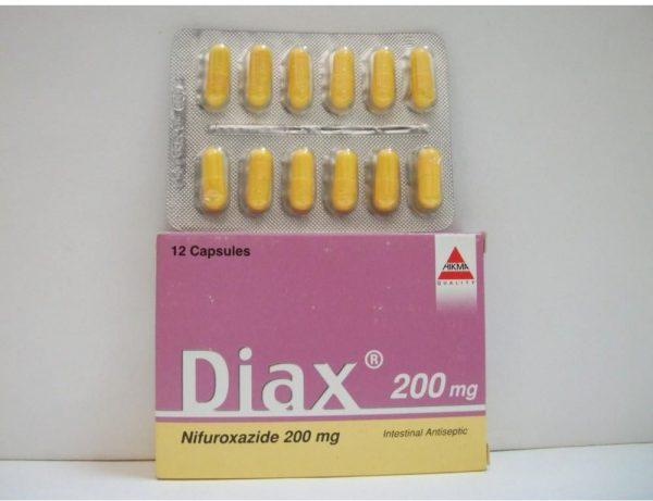 DIAX 200 MG 12 CAP