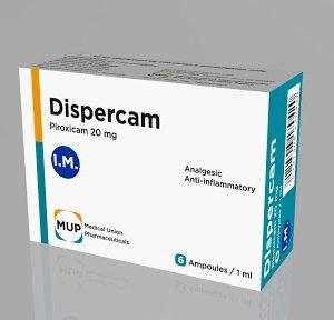 DISPERCAM 20 MG 1ML 6 AMP