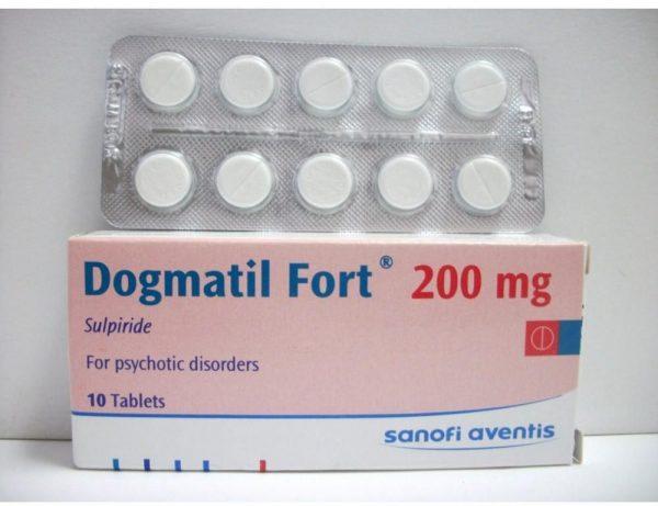 DOGMATIL FORT 200MG 10T.