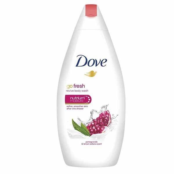 DOVE GO FRESH POMEGRANATE 500ML BODY WASH. 1
