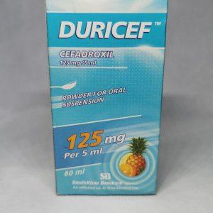 DURICEF 125MG5ML 60ML SYR scaled