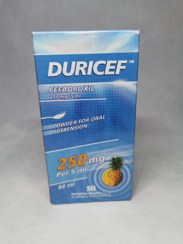 DURICEF 250MG5ML 60ML SYR scaled