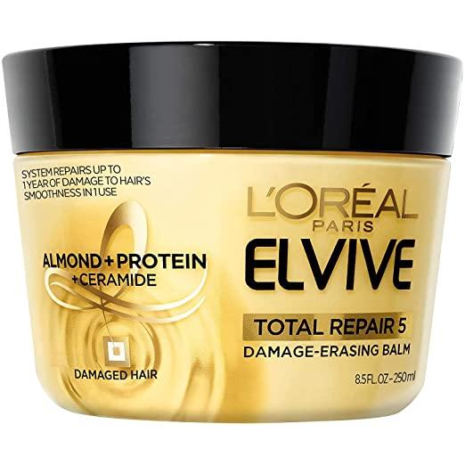 ELVIVE TOTAL REPAIR 5 DAMAGED HAIR ALMONDPROTEINCERAMIDE 250ML