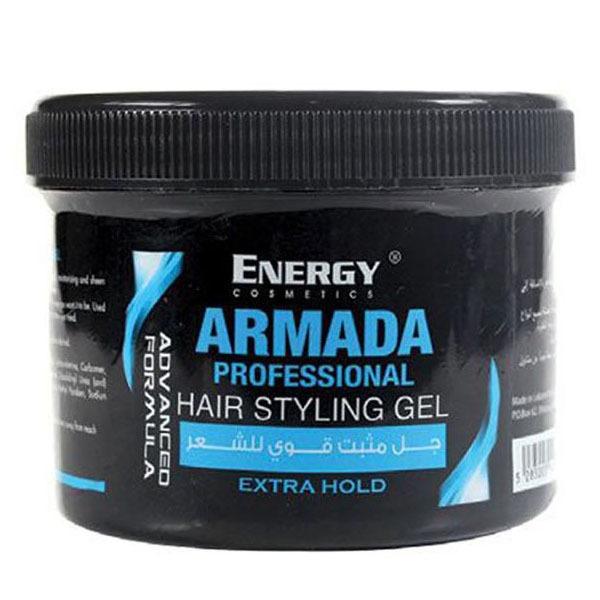 ENERGY ARMADA HAIR STYLING GEL BLUE 500ML