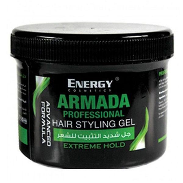 ENERGY ARMADA HAIR STYLING GEL GREEN 500ML 1
