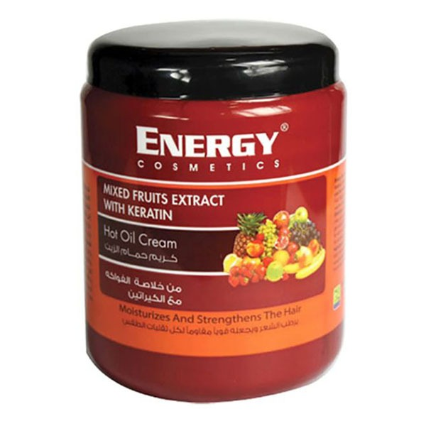 ENERGY HOT OIL TREATMENT KERATIN MIXED FRUITS 1000ML