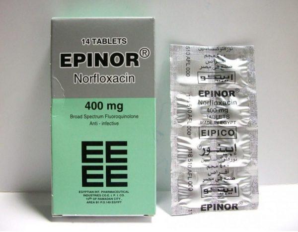 EPINOR 400MG 14T