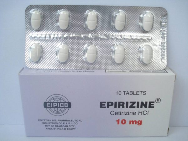 EPIRIZINE 10MG 10TAB