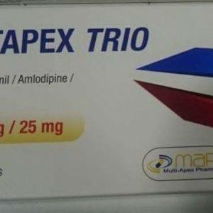 ERASTAPEX TRIO40 10 25MG 30TAB.