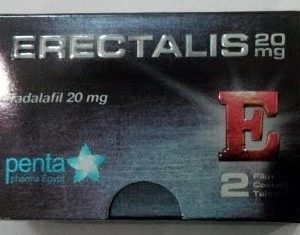 ERECTALIS 20MG 2TAB.