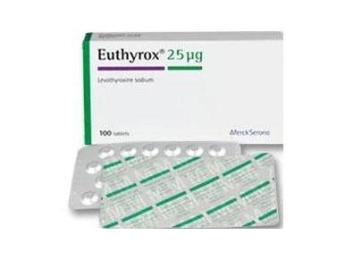 EUTHYROX 25UG 100TAB.