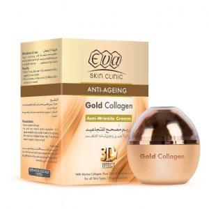 EVA COLLAGEN GOLD ANTI WRINKLE CR. 50ML