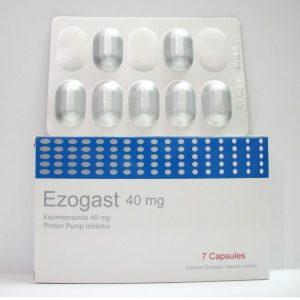 EZOGAST 40 MG 7 CAP