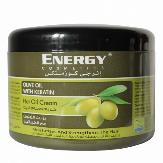 Energy hot oil treatment keratin olive oil 500ml