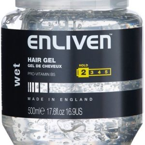 Enliven hair gel active care wet hold 500ml