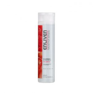 Enliven hair shampoo raspberry and red apple 400ml