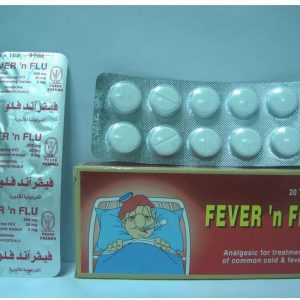 FEVER AND FLU 20TAB.
