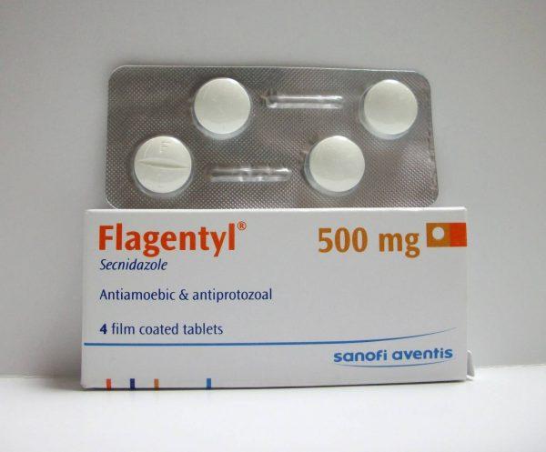 FLAGENTYL 500 MG 4 TAB