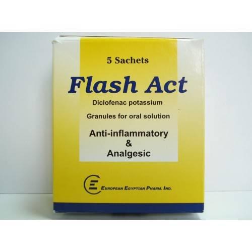 FLASH ACT 5SACHETS