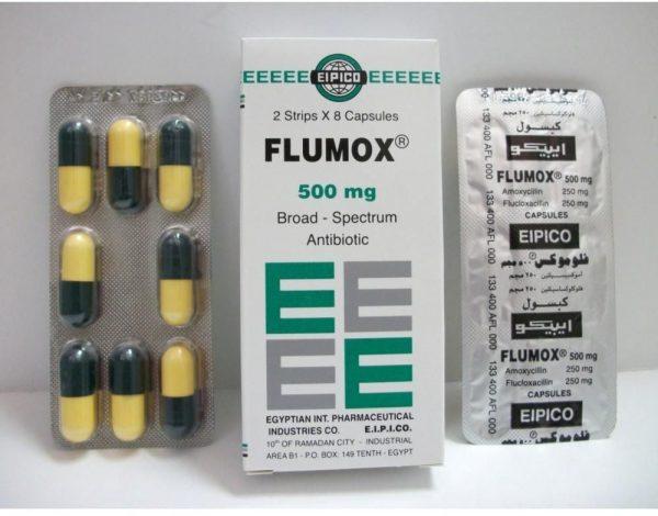FLUMOX 500 MG 16 CAP