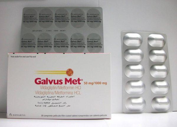 GALVUS MET 50MG 1000MG