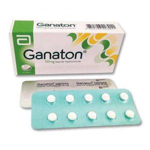 GANATON 50 MG 30 TAB