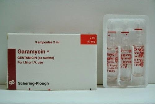 GARAMYCIN 80MG 2CC 3A.