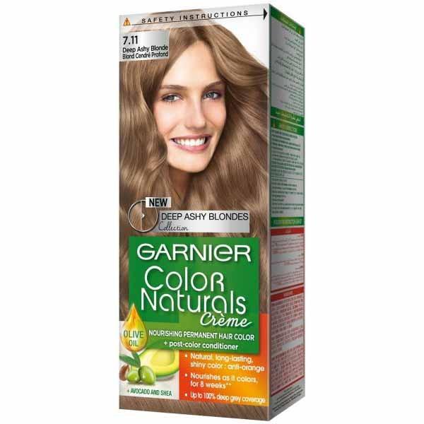 GARNIER COLOR NATURALS DEEP ASHY BLONDE 7.11 1