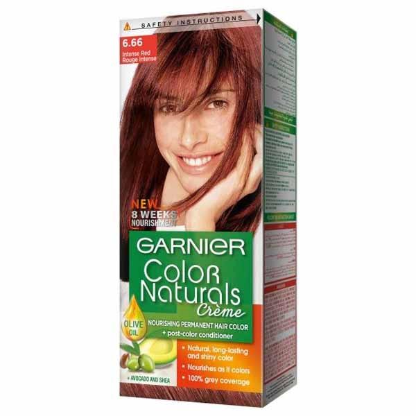 GARNIER COLOR NATURALS INTENSE RED 6.66 1