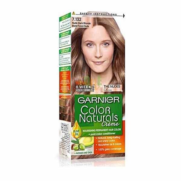 GARNIER COLOR NATURALS NUDE DARK BLONDE 7.132
