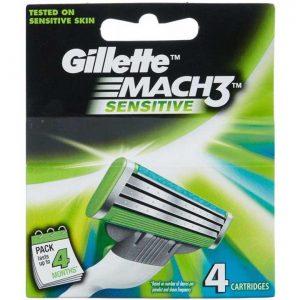 GILLETE MACH3 SENSITVE 4 Blades