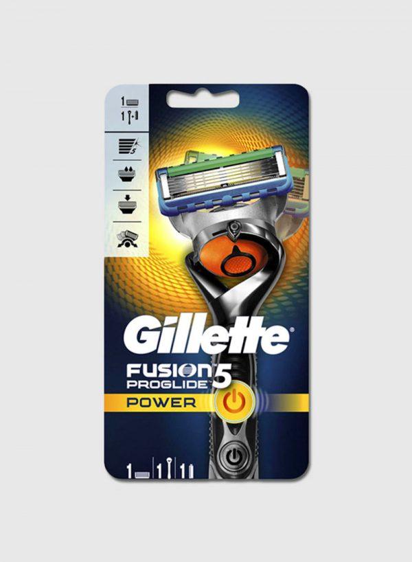 GILLETTE FUSION PROGLIDE POWER .