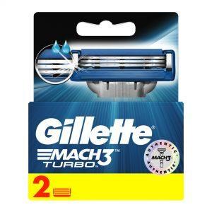GILLETTE MACH3 Turbo 2 BLADES