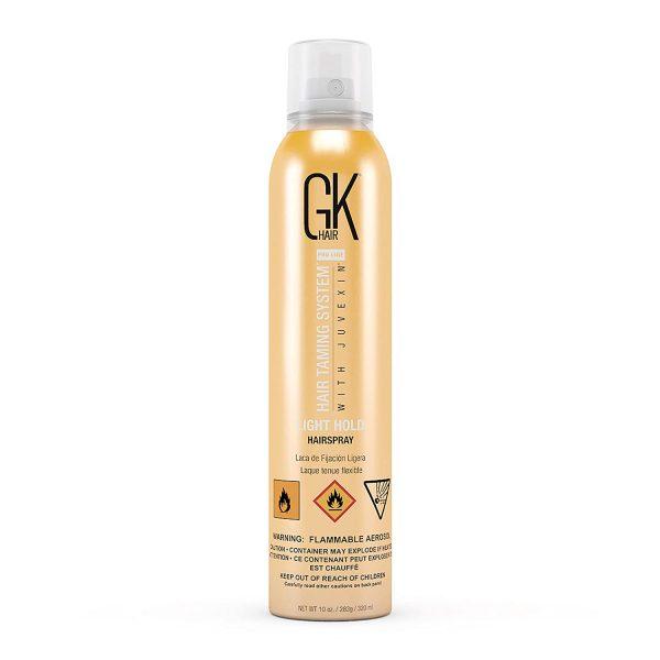 GK HAIR TAMING SYSTEM HAIRSPRAY LIGHT HOLD 320ML