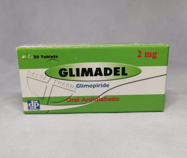 GLIMADEL 2MG 20TABS. scaled