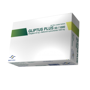 GLIPTUS PLUS50 1000 30 tab