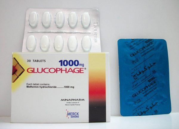 GLUCOPHAGE 1000 MG 30 TAB