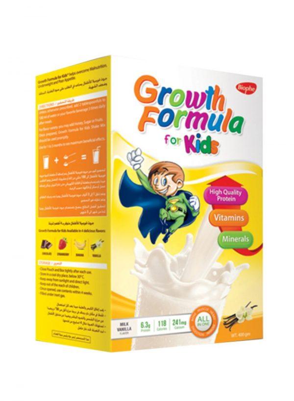 GROWTH FORMULA KIDS VANILLA.